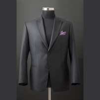 Single jacket made of English fabric with hybrid light construction,hand-stiched in Italian style / Szóló zakó angol alapanyagból könnyű,hibrid technológiával és kézi tűzéssel olasz stílusjegyekkel