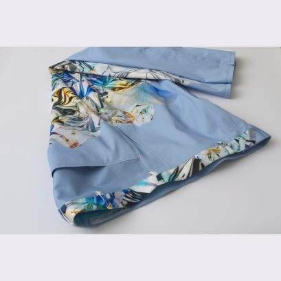 Kristály-mintás vászon nadrág