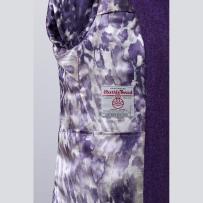 The Orb in digital printed pure silk lining / Digitálisan nyomott tisztaselyem bélés az Orb-bal