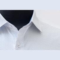 Albini printed superfine cotton