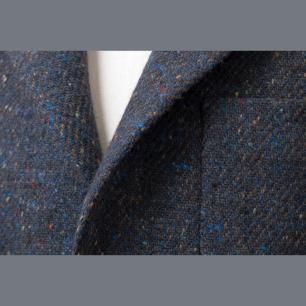Irish Donegal by Dashing Tweeds with many colours / Írországban készült donegál kabátszövet (540g) a Dashing Tweeds-től