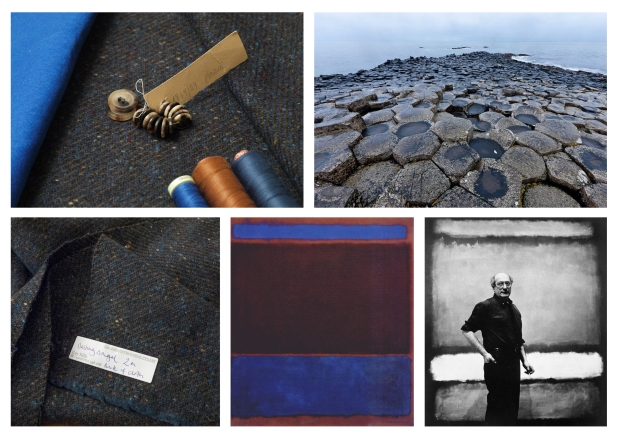 Dashing Tweeds mood boards